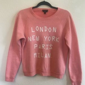 TOP SHOP WORLD CITY SWEATER
